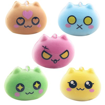 Cute Cat Macaron Soft PU Foam Squishy ToySquishy toys<br>Cute Cat Macaron Soft PU Foam Squishy Toy<br><br>Color: Green<br>Materials: PU<br>Package Content: 1 x Squishy Toy<br>Package Dimension: 6.50 x 5.00 x 3.50 cm / 2.56 x 1.97 x 1.38 inches<br>Package Weights: 25g<br>Pattern Type: Delicacy<br>Product Dimension: 5.50 x 4.00 x 2.50 cm / 2.17 x 1.57 x 0.98 inches<br>Product Weights: 10g<br>Products Type: Squishy Toy<br>Use: Home Decoration