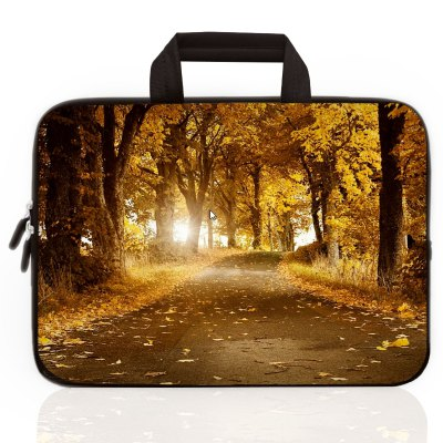 Rubber Leisure Hand Bag for 15 inch Notebook
