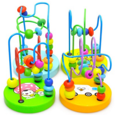Baby Wood Beads Educational Toy