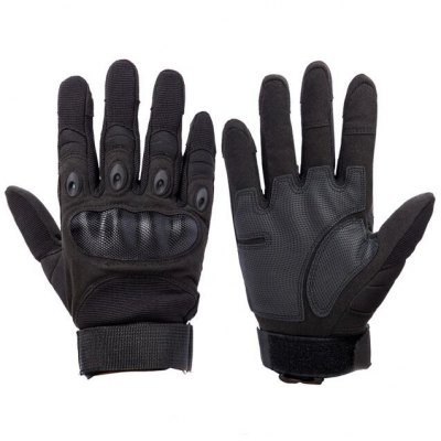 Pair of Male Full-finger Shockproof Tactical Sports Gloves