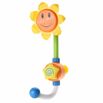 Sunflower Shower Faucet Bath Baby Water Play Toy