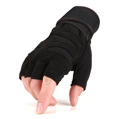 Pair of Male Half-finger Anti-shock Cycling Sports GlovesCycling Gloves<br>Pair of Male Half-finger Anti-shock Cycling Sports Gloves<br><br>Package Contents: 1 x Pair of Sports Gloves<br>Package size (L x W x H): 18.00 x 11.00 x 1.50 cm / 7.09 x 4.33 x 0.59 inches<br>Package weight: 0.0860 kg<br>Product size (L x W x H): 17.50 x 10.50 x 1.00 cm / 6.89 x 4.13 x 0.39 inches<br>Product weight: 0.0550 kg<br>Size: L,M<br>Style Design: Half-finger