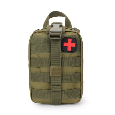 Water-resistant Nylon Tactical Emergency Pouch First Aids Bag