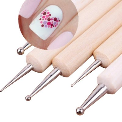 5PCS Wooden Nail Art Manicure PenMakeup Brushes &amp; Tools<br>5PCS Wooden Nail Art Manicure Pen<br><br>Package Contents: 5 x Manicure Pen<br>Package size (L x W x H): 18.00 x 6.00 x 1.00 cm / 7.09 x 2.36 x 0.39 inches<br>Package weight: 0.0500 kg<br>Product size (L x W x H): 15.00 x 0.80 x 0.80 cm / 5.91 x 0.31 x 0.31 inches