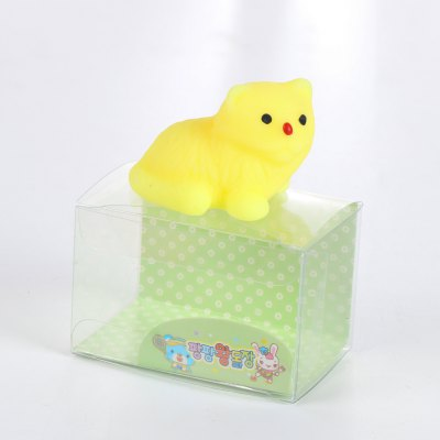 Cute Mini Cartoon Bear TPR Animal Squishy Toy