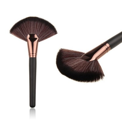 Fanned Foundation Cosmetic BrushesMakeup Brushes &amp; Tools<br>Fanned Foundation Cosmetic Brushes<br><br>Package Contents: 1 x Brush<br>Package size (L x W x H): 12.00 x 6.00 x 1.00 cm / 4.72 x 2.36 x 0.39 inches<br>Package weight: 0.0410 kg<br>Product size (L x W x H): 9.50 x 5.00 x 0.50 cm / 3.74 x 1.97 x 0.2 inches