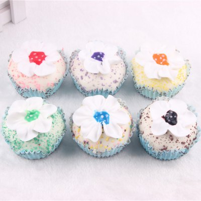 Realistic Flower Cupcake PU Foam Squishy ToySquishy toys<br>Realistic Flower Cupcake PU Foam Squishy Toy<br><br>Color: Blue<br>Materials: PU<br>Package Content: 1 x Squishy Toy<br>Package Dimension: 8.00 x 8.00 x 6.00 cm / 3.15 x 3.15 x 2.36 inches<br>Package Weights: 40g<br>Pattern Type: Cake<br>Product Dimension: 6.00 x 6.00 x 4.00 cm / 2.36 x 2.36 x 1.57 inches<br>Product Weights: 20g<br>Products Type: Squishy Toy<br>Use: Home Decoration, Art &amp; Collectible