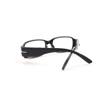 Presbyopic Glasses LED Reading Night LightNovelty lighting<br>Presbyopic Glasses LED Reading Night Light<br><br>Color: Black<br>Holder: Wireless<br>Material: PC<br>Package Contents: 1 x Eyeglasses Night Light<br>Package size (L x W x H): 14.50 x 14.00 x 4.10 cm / 5.71 x 5.51 x 1.61 inches<br>Package weight: 0.2950 kg<br>Power Source: Button Cell<br>Product size (L x W x H): 14.00 x 13.50 x 3.60 cm / 5.51 x 5.31 x 1.42 inches<br>Product weight: 0.2700 kg