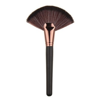 Fanned Foundation Cosmetic Brushes