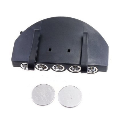 5 LED Black Multifunctional Novelty Cap LightsNovelty lighting<br>5 LED Black Multifunctional Novelty Cap Lights<br><br>Material: Plastic<br>Package Contents: 1 x Cap Light<br>Package size (L x W x H): 10.00 x 7.00 x 3.00 cm / 3.94 x 2.76 x 1.18 inches<br>Package weight: 0.0600 kg<br>Product size (L x W x H): 9.00 x 6.00 x 2.00 cm / 3.54 x 2.36 x 0.79 inches<br>Product weight: 0.0500 kg<br>Suitable for: Home