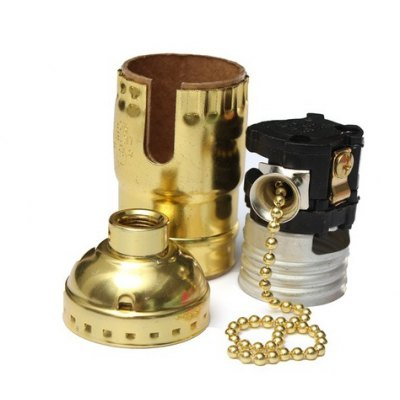 E27 / E26 Retro Light Accessory LampholderLED Accessories<br>E27 / E26 Retro Light Accessory Lampholder<br><br>Holder: E26/E27<br>Material: Aluminum, Copper<br>Package Contents: 1 x E27 / E26 Holder<br>Package size (L x W x H): 7.50 x 3.70 x 3.70 cm / 2.95 x 1.46 x 1.46 inches<br>Package weight: 0.0680 kg<br>Product size (L x W x H): 7.00 x 3.20 x 3.20 cm / 2.76 x 1.26 x 1.26 inches<br>Product weight: 0.0430 kg