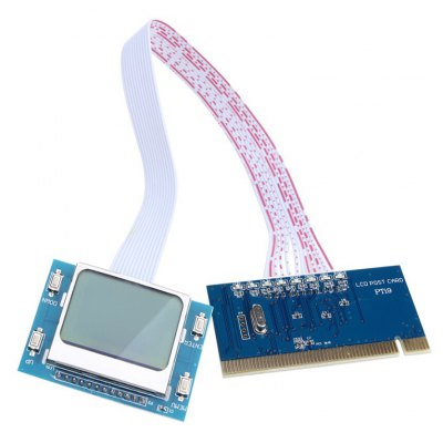 PTi9 PC Mainboard LCD Analyzer Diagnostic Post Card