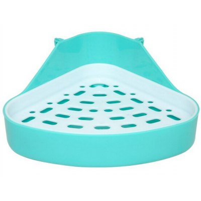 Triangular Indoor Pet Dog Potty Pads PVC Holder Tray