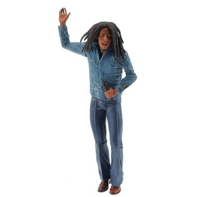 18cm Bob Marley Figure Collectible Model Toy