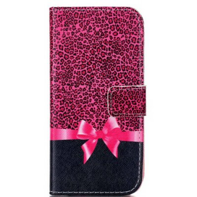 Bowknot Pattern Flip-open Cover Case for Samsung Galaxy S7