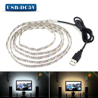 5V 3528 LED Light Strip for Computer ChassisLED Strips<br>5V 3528 LED Light Strip for Computer Chassis<br><br>Connector Type: USB<br>Features: Low Power Consumption<br>Input Voltage: DC 5V<br>LED Type: SMD-3528<br>Length: 0.5M<br>Material: FPC<br>Optional Light Color: Warm White,White<br>Package Contents: 1 x LED Strip<br>Package size (L x W x H): 21.00 x 21.00 x 2.00 cm / 8.27 x 8.27 x 0.79 inches<br>Package weight: 0.0550 kg<br>Product size (L x W x H): 100.00 x 0.10 x 1.00 cm / 39.37 x 0.04 x 0.39 inches<br>Product weight: 0.0300 kg<br>Rated Power (W): 5W<br>Type: LED Strip<br>Waterproof: No