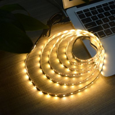 5V 3528 LED Light Strip for Computer ChassisLED Strips<br>5V 3528 LED Light Strip for Computer Chassis<br><br>Connector Type: USB<br>Features: Low Power Consumption<br>Input Voltage: DC 5V<br>LED Type: SMD-3528<br>Length: 1M<br>Material: FPC<br>Optional Light Color: Warm White,White<br>Package Contents: 1 x LED Strip<br>Package size (L x W x H): 21.00 x 21.00 x 2.00 cm / 8.27 x 8.27 x 0.79 inches<br>Package weight: 0.0550 kg<br>Product size (L x W x H): 100.00 x 0.10 x 1.00 cm / 39.37 x 0.04 x 0.39 inches<br>Product weight: 0.0300 kg<br>Rated Power (W): 5W<br>Type: LED Strip<br>Waterproof: No