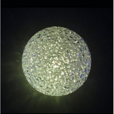 Crystal Ball LED Night LightNovelty lighting<br>Crystal Ball LED Night Light<br><br>Lifespan: 100000 hours<br>Material: Crystal<br>Package Contents: 1 x Night Light<br>Package size (L x W x H): 8.00 x 8.00 x 8.00 cm / 3.15 x 3.15 x 3.15 inches<br>Package weight: 0.0650 kg<br>Product weight: 0.0450 kg<br>Suitable for: Holiday Decoration, Home, Exhibition, Party, Home Decoration