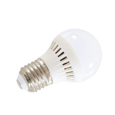 Plastic 2835 LED E27 Home Use Bulb LightGlobe bulbs<br>Plastic 2835 LED E27 Home Use Bulb Light<br><br>Angle: 120 degree<br>Available Light Color: Warm White,White<br>CCT/Wavelength: 3000-6500K<br>Emitter Types: SMD 2835<br>Features: Non-dimmable, Energy Saving<br>Function: Home Lighting<br>Holder: E27<br>Luminous Flux: 300LM<br>Output Power: 3W<br>Package Contents: 1 x Bulb Light<br>Package size (L x W x H): 4.50 x 4.50 x 11.50 cm / 1.77 x 1.77 x 4.53 inches<br>Package weight: 0.1130 kg<br>Product size (L x W x H): 4.00 x 4.00 x 11.00 cm / 1.57 x 1.57 x 4.33 inches<br>Product weight: 0.0880 kg<br>Sheathing Material: Plastic<br>Type: Ball Bulbs<br>Voltage (V): AC 220V