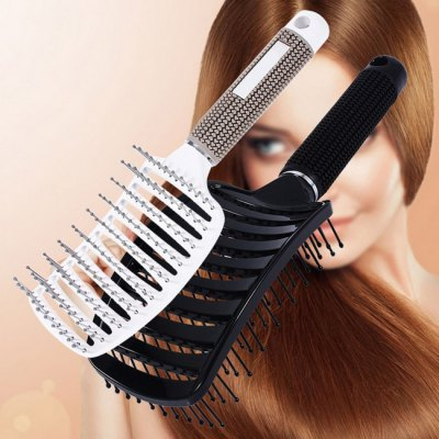 Professional Rubber Rolling CombHair Care<br>Professional Rubber Rolling Comb<br><br>Color: White<br>Contents: 1 x Comb<br>Package Size(L x W x H): 30.00 x 20.00 x 10.00 cm / 11.81 x 7.87 x 3.94 inches<br>Package Weights: 0.0800KG<br>Product Size(L x W x H): 26.00 x 14.00 x 5.00 cm / 10.24 x 5.51 x 1.97 inches