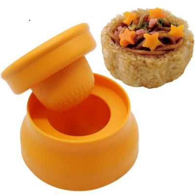 Sushi Rice Cup Cutter Mold Sets