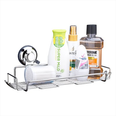 CW813 Stainless Steel Suction Cup Storage Basket 218071301