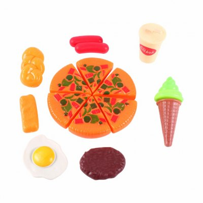 Simulated Pizza Package of Children Christmas Gifts
