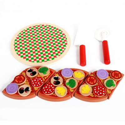 RB93 Wooden Simulation Mushrooms Pizza Cut SetPretend Play<br>RB93 Wooden Simulation Mushrooms Pizza Cut Set<br><br>Appliable Crowd: Unisex<br>Materials: Wood<br>Nature: Other<br>Package Contents: 1 x Set of Pizza Toys<br>Package size: 23.00 x 7.00 x 23.00 cm / 9.06 x 2.76 x 9.06 inches<br>Package weight: 0.8200 kg<br>Product size: 21.00 x 5.00 x 21.00 cm / 8.27 x 1.97 x 8.27 inches<br>Product weight: 0.7200 kg