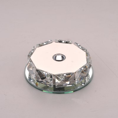 Polygonal Crystal  LED Ceiling LightFlush Ceiling Lights<br>Polygonal Crystal  LED Ceiling Light<br><br>Features: Remote-Controlled<br>Illumination Field: 10sqm<br>Optional Light Color: RGB<br>Package Contents: 1 x Ceiling Light, 1 x Remote Controller, 1 x English Manual<br>Package size (L x W x H): 25.00 x 25.00 x 13.00 cm / 9.84 x 9.84 x 5.12 inches<br>Package weight: 1.2900 kg<br>Product size (L x W x H): 12.00 x 12.00 x 4.00 cm / 4.72 x 4.72 x 1.57 inches<br>Product weight: 1.0000 kg<br>Sheathing Material: Crystal<br>Type: Ceiling Lights<br>Voltage (V): AC85-265<br>Wattage (W): 3