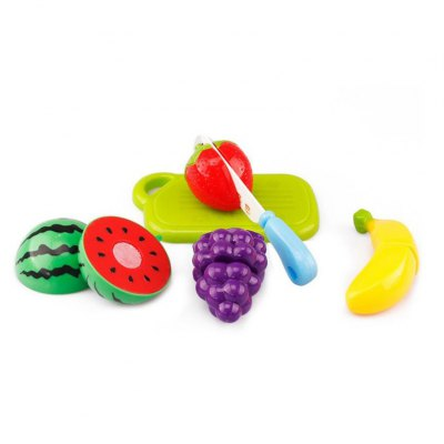 Kitchen Toys Fruit Cut Tool 6pcsPretend Play<br>Kitchen Toys Fruit Cut Tool 6pcs<br><br>Appliable Crowd: Unisex<br>Materials: ABS<br>Nature: Other<br>Package Contents: 6 x Toy Accessory<br>Package size: 25.00 x 37.50 x 10.00 cm / 9.84 x 14.76 x 3.94 inches<br>Package weight: 0.1300 kg<br>Product size: 20.00 x 35.00 x 9.00 cm / 7.87 x 13.78 x 3.54 inches<br>Product weight: 0.1000 kg