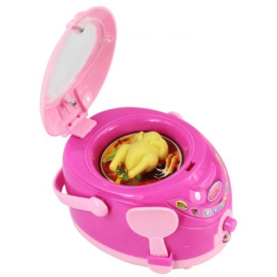 Cute Plastic Rice Cooker Pretend Play Toy