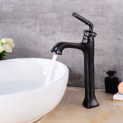 Black Waterfall Single Handle Bathroom Sink Faucet new pull out sprayer kitchen faucet swivel spout vessel sink mixer tap single handle hole hot and cold