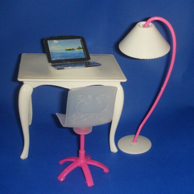 Kids Mini Computer Desk Chair PC Lamp Office Furniture ToyPretend Play<br>Kids Mini Computer Desk Chair PC Lamp Office Furniture Toy<br><br>Age: Above 3 Years<br>Material: Plastic<br>Package Contents: 1 x Table, 1 x Chair, 1 x Lamp, 1 x Personal Computer<br>Package size (L x W x H): 26.00 x 21.00 x 42.00 cm / 10.24 x 8.27 x 16.54 inches<br>Package weight: 0.0900 kg<br>Product size (L x W x H): 24.00 x 19.00 x 40.00 cm / 9.45 x 7.48 x 15.75 inches<br>Product weight: 0.0500 kg<br>Type: Pretend Play