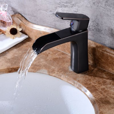 A5 Single Handle Bathroom Sink FaucetFaucets<br>A5 Single Handle Bathroom Sink Faucet<br><br>Cold and Hot Switch: Yes<br>Feature: Waterfall<br>Function: Bathroom Sink Faucets<br>Installation Holes: One Hole<br>Number of Handles: Single Handle<br>Package Contents: 1 x Bathroom Sink Faucet<br>Package size (L x W x H): 38.00 x 23.00 x 14.00 cm / 14.96 x 9.06 x 5.51 inches<br>Package weight: 1.6700 kg<br>Product size (L x W x H): 18.50 x 15.00 x 5.00 cm / 7.28 x 5.91 x 1.97 inches<br>Product weight: 1.4500 kg<br>Style: Contemporary