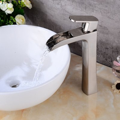 A7 Single Handle Bathroom Sink Faucet new pull out sprayer kitchen faucet swivel spout vessel sink mixer tap single handle hole hot and cold
