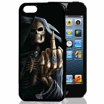 3D Relief Middle Finger TPU Phone Case