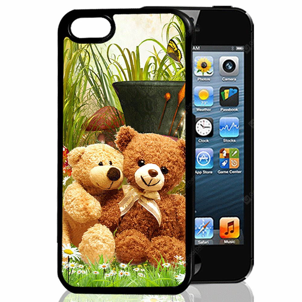Buy 3D Relief Lovely Bears TPU Phone Case COLORMIX