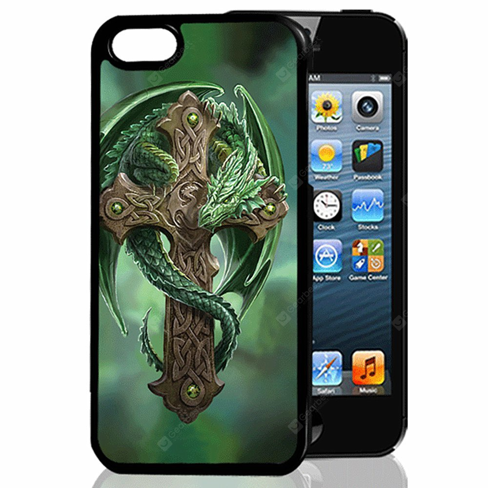 Buy 3D Relief Dragon Cross TPU Phone Case COLORMIX