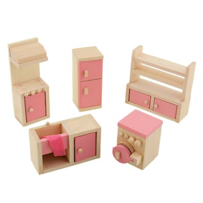 5pcs Pretend Play Wooden Doll Kitchen House ToyPretend Play<br>5pcs Pretend Play Wooden Doll Kitchen House Toy<br><br>Age: Above 3 Years<br>Material: Wood<br>Package Contents: 1 x Set of Doll Kitchen House Toys<br>Package size (L x W x H): 25.00 x 20.00 x 8.00 cm / 9.84 x 7.87 x 3.15 inches<br>Package weight: 0.3800 kg<br>Product size (L x W x H): 20.00 x 16.00 x 6.00 cm / 7.87 x 6.3 x 2.36 inches<br>Product weight: 0.3500 kg<br>Type: Pretend Play