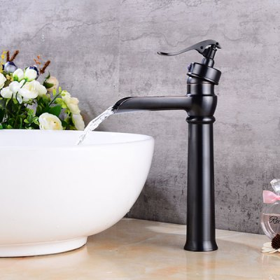 A30 Waterfall Single Handle Bathroom Sink FaucetFaucets<br>A30 Waterfall Single Handle Bathroom Sink Faucet<br><br>Cold and Hot Switch: Yes<br>Feature: Waterfall<br>Function: Bathroom Sink Faucets<br>Installation Holes: One Hole<br>Number of Handles: Single Handle<br>Package Contents: 1 x Bathroom Sink Faucet<br>Package size (L x W x H): 38.00 x 16.50 x 11.00 cm / 14.96 x 6.5 x 4.33 inches<br>Package weight: 1.2700 kg<br>Product size (L x W x H): 32.00 x 15.00 x 8.00 cm / 12.6 x 5.91 x 3.15 inches<br>Product weight: 1.0500 kg<br>Style: Contemporary