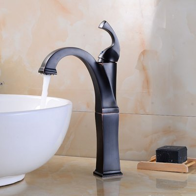 A20 Single Handle Bathroom Sink Faucet new pull out sprayer kitchen faucet swivel spout vessel sink mixer tap single handle hole hot and cold