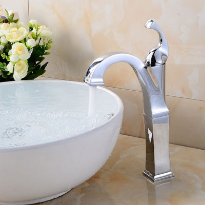 A17 Single Handle Bathroom Sink Faucet kitchen chrome plated brass faucet single handle pull out pull down sink mixer hot and cold tap modern design