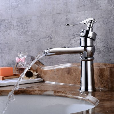 A25 Single Handle Bathroom Sink Faucet new pull out sprayer kitchen faucet swivel spout vessel sink mixer tap single handle hole hot and cold