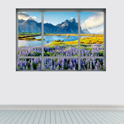 YM1041 3D Europe Iceland Landscape Wall StickerWall Stickers<br>YM1041 3D Europe Iceland Landscape Wall Sticker<br><br>Art Style: Plane Wall Stickers<br>Functions: Decorative Wall Stickers<br>Material: Vinyl(PVC)<br>Package Contents: 1 x Wall Sticker<br>Package size (L x W x H): 48.50 x 4.00 x 4.00 cm / 19.09 x 1.57 x 1.57 inches<br>Package weight: 0.1500 kg<br>Product size (L x W x H): 68.00 x 48.50 x 0.10 cm / 26.77 x 19.09 x 0.04 inches<br>Product weight: 0.1100 kg<br>Subjects: Landscape