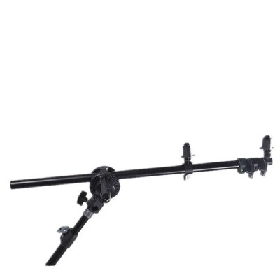 High-quality Reflector Boom Arm HolderPhoto Studio Accessories<br>High-quality Reflector Boom Arm Holder<br><br>Package Contents: 1 x Reflector Boom Arm Holder, 1 x High Light Stand, 1 x Set of Install Wheels<br>Package size (L x W x H): 11.00 x 13.50 x 68.00 cm / 4.33 x 5.31 x 26.77 inches<br>Package weight: 0.8200 kg<br>Product size (L x W x H): 9.00 x 11.50 x 66.00 cm / 3.54 x 4.53 x 25.98 inches<br>Product weight: 0.8000 kg