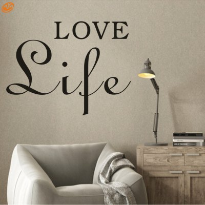 AY - 264 Creative DIY English Decorative Wall StickerWall Stickers<br>AY - 264 Creative DIY English Decorative Wall Sticker<br><br>Art Style: Plane Wall Stickers<br>Material: Vinyl(PVC)<br>Package Contents: 1 x DIY Wall Sticker<br>Package size (L x W x H): 45.00 x 5.00 x 5.00 cm / 17.72 x 1.97 x 1.97 inches<br>Package weight: 0.1100 kg<br>Product size (L x W x H): 42.00 x 56.00 x 0.20 cm / 16.54 x 22.05 x 0.08 inches<br>Product weight: 0.0500 kg<br>Subjects: Others