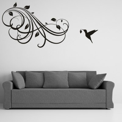 AY - 305 Creative DIY Flower Vine Decorative Wall Sticker