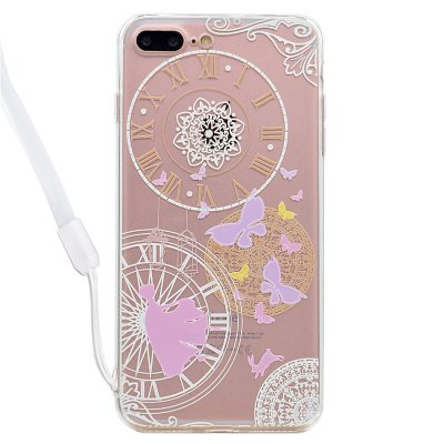 Clock Acrylic Phone Cover for iPhone 7 Plus