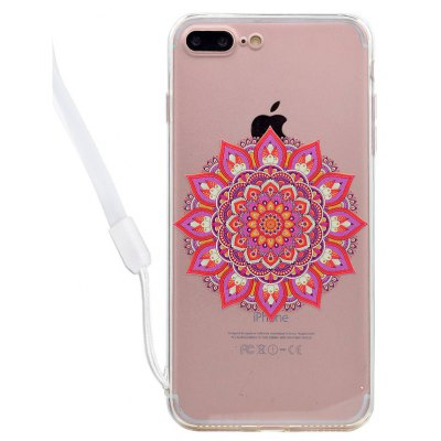 Mandala Acrylic Phone Cover for iPhone 7 Plus