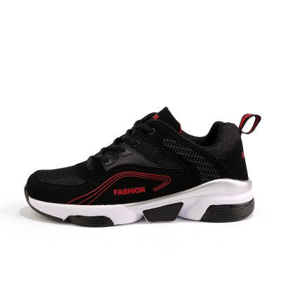 Mesh Leisure Running Shoes for MenMen's Sneakers<br>Mesh Leisure Running Shoes for Men<br><br>Closure Type: Lace-Up<br>Features: Breathable, Durable<br>Gender: Men<br>Package Contents: 1 x Pair of Shoes<br>Package size: 33.00 x 22.00 x 11.00 cm / 12.99 x 8.66 x 4.33 inches<br>Package weight: 0.6700 kg<br>Product weight: 0.5000 kg<br>Season: Summer, Spring, Autumn<br>Sole Material: Rubber